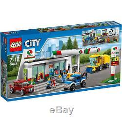 Nouveau Lego City Station-service 60132 Station De Pompage De Gaz Bnib Set X 1