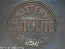 Old Autolite Service Batterie Atelier De Réparation De La Station De Gaz Box Ferme Camion Auto Eqpmnt