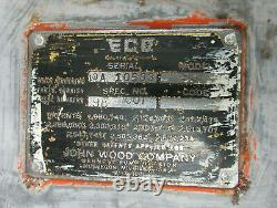 Original Eco 98 Air Meter Tireflator Pump Gas Oil Service Station Démonté