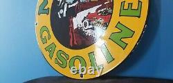 Panneau De La Station De Service De La Plate-forme De Pompe À Huile À Gaz De Porcelaine De L'essence De Musgo
