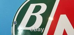 Panneau De Plaque De Pompe De La Vieille Station De Service De L'aviation De Porcelaine De L'amérique Britannique