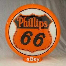 Phillips 66 Pompe Gaz Globe Station Service De Remplissage D'essence Home Garage Decor