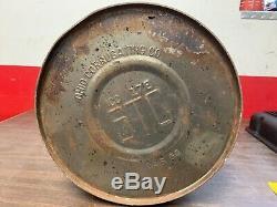 Rare Vintage 5 Gallon Delco Shock Fluide Huile Can Affichage Revendeur Gm 619