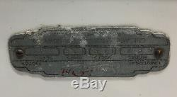 Rare Vintage Sani-sec Porcelaine Main Dryer- Gaz / Station Service-gaz