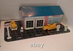 Rare Vintage Wolverine Marx Texaco Service Gas Station N ° 856