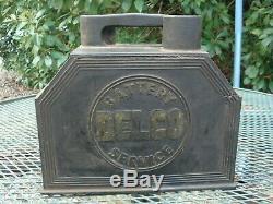 Service De Nettoyage Vintage Delco Service Batterie Boîte À Outils Station Garage