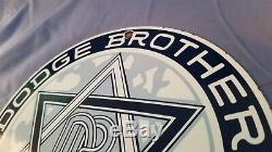 Service Dodge Vintage Brothers Essence Porcelaine Signe Station Automobile Annonce