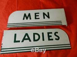 Service Station Texaco Vintage Bride Signes- Vintage Restroom Gas & Oil Sign