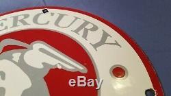 Service Vintage Mercury Essence Porcelaine Station Signe Automobile Annonce