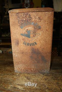 Service Vintage Station Île Lave-glace Papier Distributeur De Serviettes Boîte
