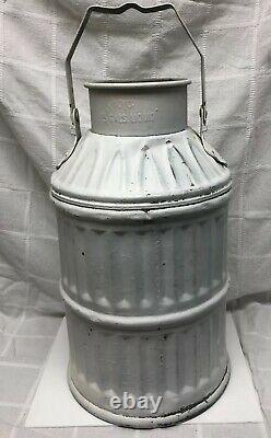 Shell Oil 5 Gas Oil Gallon Dump Container Can Service Station
