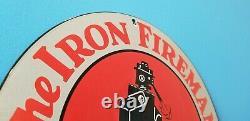Signe De Station D'service De Porcelaine De Brûleur De Charbon D'huile De Gaz De Fer De Cru