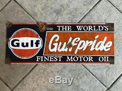 Station Découverte Antique Grange Style Aspect Marchand Golfe Gulfpride Vente Service
