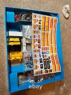 Super Rare Vintage Playmobil 3437 Shell Station Nouveau Service En Boîte Ouverte