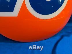 Union 76 Vtg Publicité Connexion Gaz Huile Station Service 20 Demi-boule 3d Bubble