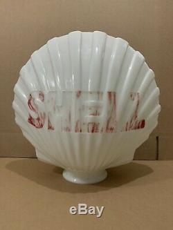 Verre Service Objectif Pompe Shell Gas Globe Lumière Vintage Garage Station Connexion