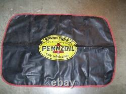 Vintage 50s Pennzoil Huile Station Auto Fender Partie Service Ford Gm Jalopy Chevy