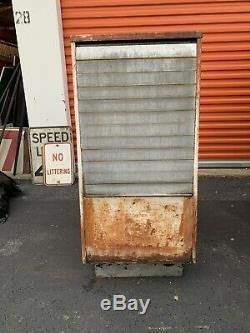 Vintage Affichage D'huile Seloil Huile Station Service Cabinet Gaz