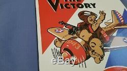 Vintage Amoco Essence Porcelaine Gaz Ww2 Station Service Militaire Annonce Se Connecter