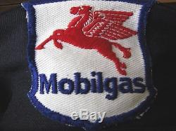 Vintage Collection Mobil Oil Service Station Uniforme Chapeau Assister Patch