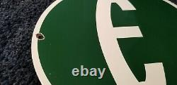 Vintage Ford Automobile Porcelaine Gas Station E Edsel Pump Sign