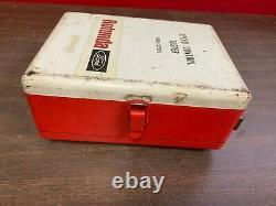 Vintage Ford Rotunda Speed Control Testeur Metal Case Are-22015 Display Tool 1219
