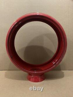 Vintage Gas Pump Globe Body Top 15 Red Texaco Esso Atlantic Service Station