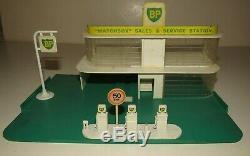 Vintage Lesney Matchbox Mg-1 Bp Gaz / Essence Des Ventes Et Station-service