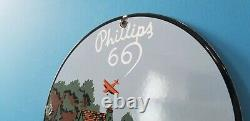 Vintage Phillips 66 Essence Station De Service Pour L'essence Station De Service Pour L'essence Rack De Pompe À Huile