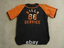 Vintage Phillips 66 Service Remplissage De La Station-service Uniforme Baseball