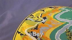 Vintage Service Richfield Essence Porcelaine Station Pompe Plaque Annonce Se Connecter