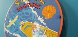 Vintage Shell Guant Porcelaine Porceau-bateau Pompe De Pompe