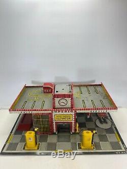 Vintage Station Service Supérieure 1949 T Cohn Inc. Frank Studios Tin Lito