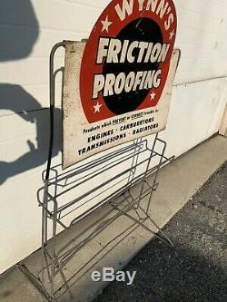 Wynns Proofing Friction Affichage Rack Gaz Huile Garage Se Connecter Pièces Station